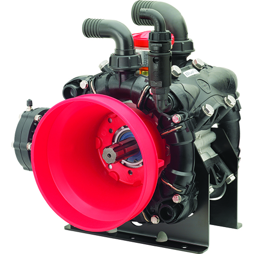 AR160 / AR185 - 550 RPM - Semi-Hydraulic Three-Diaphragm Pump