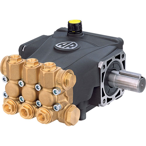 Annovi Reverberi AR RC11.17N  horizontal gas engine triplex plunger pump.