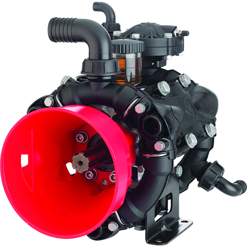 AR120 - AR140 - 550 RPM - Semi-Hydraulic Three-Diaphragm Pump