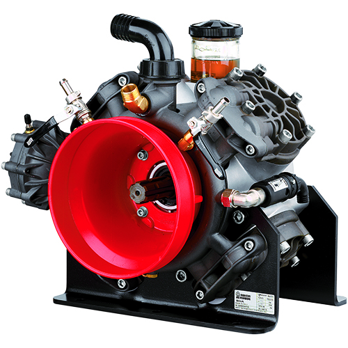 BHA170 - BHA200 - 550 RPM - Semi-Hydraulic Four Diaphragm Pump
