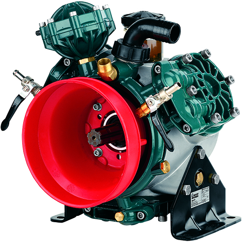 BHP130 - BHP150 - 550 RPM - Semi-Hydraulic Three Diaphragm Pump